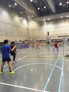 badminton-in-todai-gym